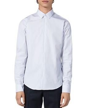 Sandro - Fine Stripe Slim Fit Shirt