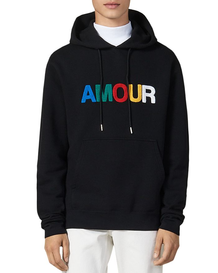 Sandro - Amour Fleece Hoodie