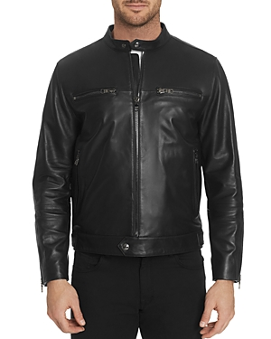 Robert Graham Brando Leather Jacket-Men