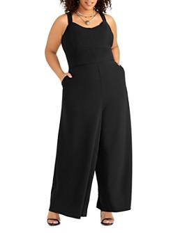 Rachel Roy Plus - Demetria Wide-Leg Jumpsuit