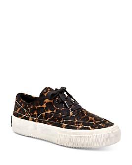 ALLSAINTS - Women's Mercia Leopard-Print Platform Sneakers
