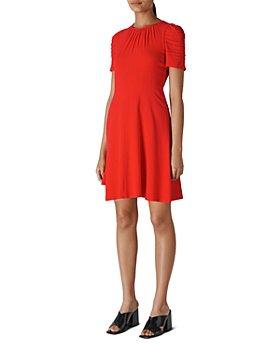 Whistles - Simone Ruched Mini Dress