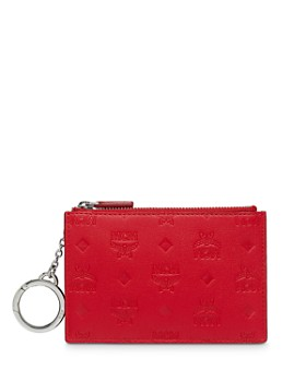 MCM - Klara Monogrammed Leather Key Pouch