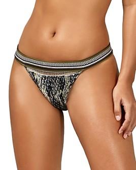 Ted Baker - Beatha Quartz Print Classic Bikini Bottom