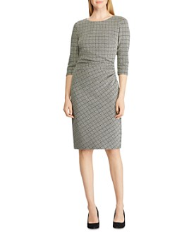 Ralph Lauren - Houndstooth Jacquard Dress