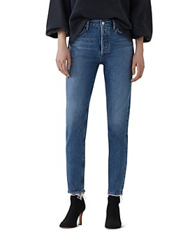 AGOLDE - Jamie High Rise Slim Jeans in Blithe