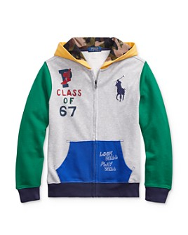 Ralph Lauren - Boys' Color-Block Hoodie - Big Kid