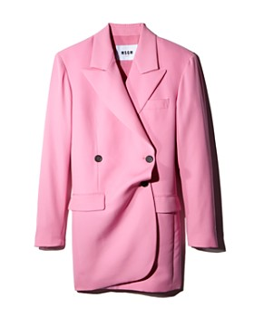 MSGM - Double-Breasted Jacket Dress