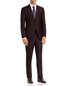 John Varvatos Star USA - Tonal Micro Stripe Slim Fit Suit Separates