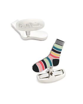 Paul Smith - Stripe Sock Cufflinks