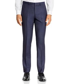 HUGO - Hesten Houndstooth Check Extra Slim Fit Suit Pants