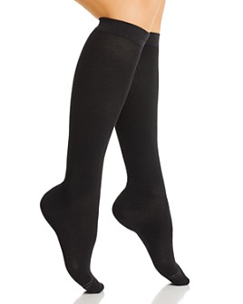 HUE - Graduated Compression Knee Socks