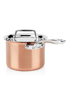 All-Clad - c4 Copper 2 qt. Sauce Pan C4202