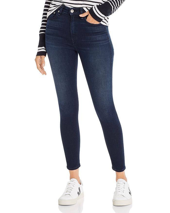 rag & bone - Nina High-Rise Skinny Jeans in Etta
