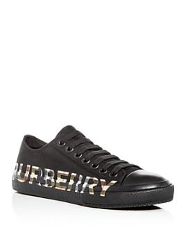 Burberry - Men's Larkhall Logo Low-Top Sneakers