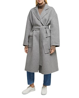 FRENCH CONNECTION - Agatima Oversized Belted Coat