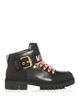 Moschino - Women's Ankle Combat Boots