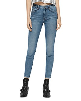 ALLSAINTS - Roxanne High-Rise Ankle Skinny Jeans in Mid Indigo
