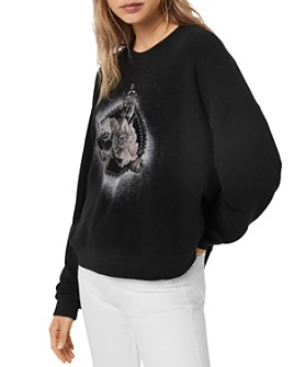 ALLSAINTS - Lo Ethie Graphic Sweatshirt
