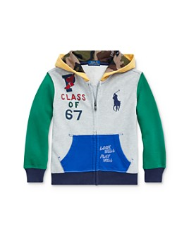 Ralph Lauren - Boys' Color-Block Hoodie - Little Kid