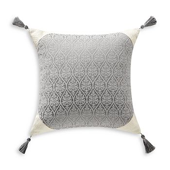 "Waterford - Vernon Tassel Decorative Pillow, 16"" x 16"""