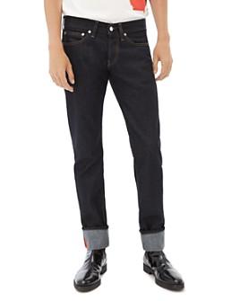 Helmut Lang - Masc Josephine Straight Slim Jeans in Raw Indigo