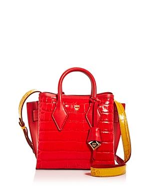 Mcm Neo Milla Embossed Mini Tote-Handbags