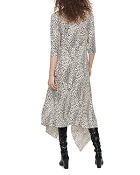 Maje - Rosa Animal-Print Dress