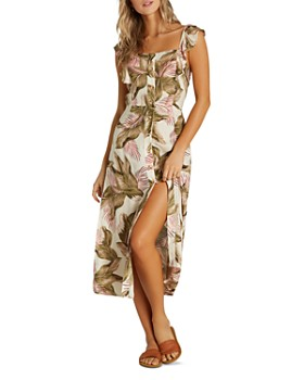 Billabong - Love Tripper Palm Print Dress