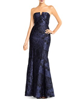 Aidan Mattox - Jacquard Mermaid Gown