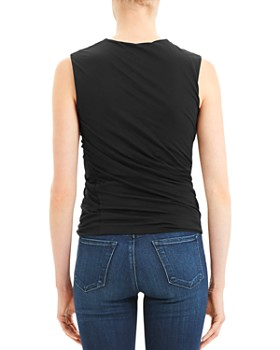Theory - Sleeveless Twist-Seam Top
