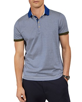 Ted Baker - Depolo Striped Regular Fit Polo Shirt