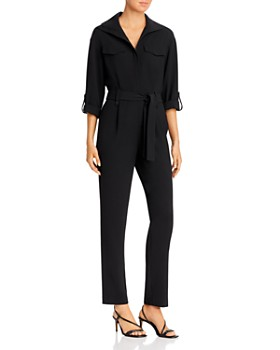 Kenneth Cole - Zip-Front Utility Jumpsuit