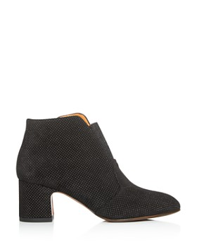 Chie Mihara - Women's Naya Embossed-Dot Block-Heel Booties