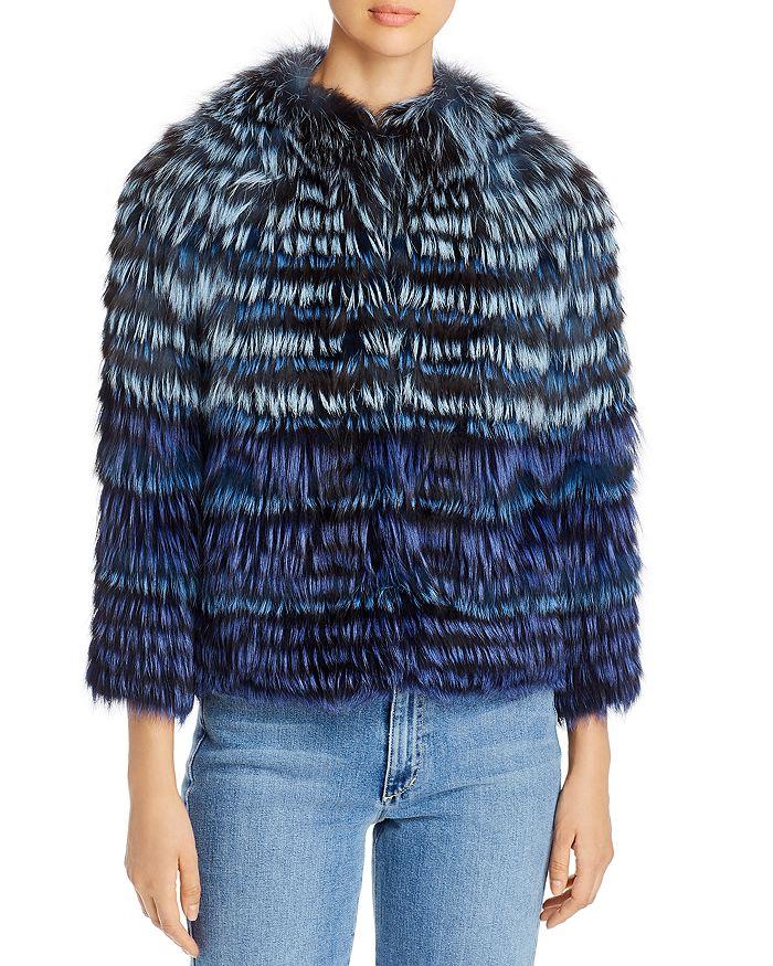 Maximilian Furs - Short Tipped Fox Fur Jacket - 100% Exclusive