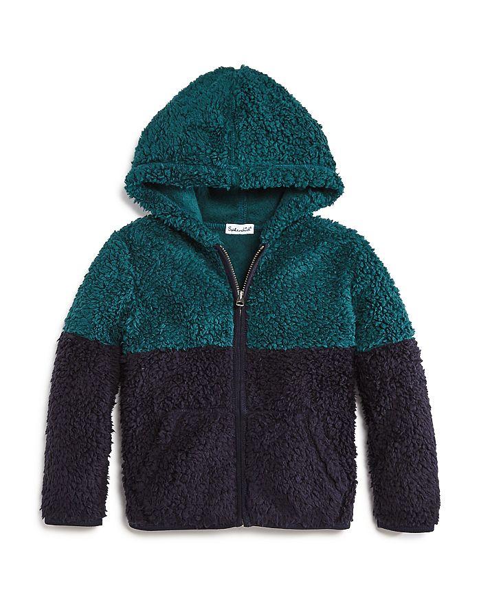 Splendid - Boys' Color-Block Sherpa Hoodie - Little Kid
