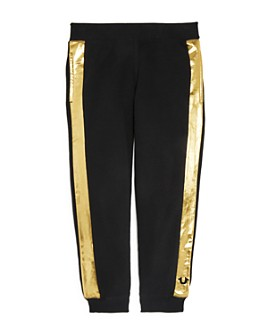 True Religion - Boys' Metallic-Stripe Sweatpants - Little Kid, Big Kid
