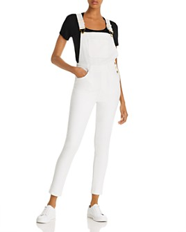 Onia - High-Rise Skinny Overalls