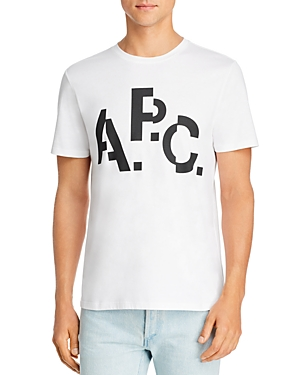 A.p.c. Tops DECALE TEE