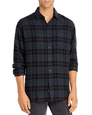 Rails Lennox Plaid Flannel Regular Fit Button-Down Shirt-Men