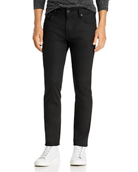 True Religion - Rocco No Flap Slim Fit Jeans in 2S Body Rinse Black