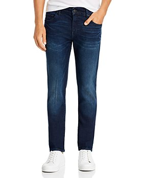 True Religion - Rocco No Flap Slim Fit Jeans in Dald Dark Passage