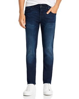 True Religion - Rocco No Flap Slim Fit Jeans in Dald Dark Passage