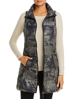 Fillmore - Camo-Print Hooded Down Vest