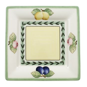 "Villeroy & Boch - ""French Garden"" Macon Square Tea Saucer"