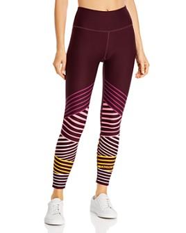 Calvin Klein - High-Rise Striped Detail Leggings