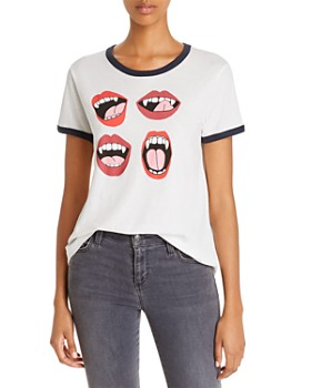 WILDFOX - Fangs Ringer Tee