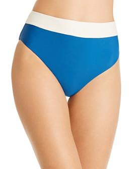 PilyQ - High-Waist Bikini Bottom