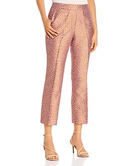 kate spade new york - Flora Leopard Jacquard Pants