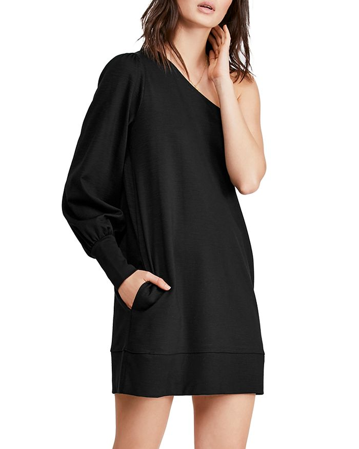 Free People - Zoya One-Shoulder Shift Dress